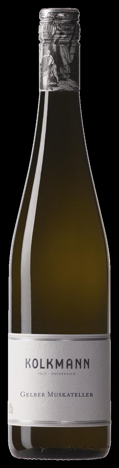 Gelber Muskateller vom Weingut Kolkmann - dem Weingut in Fels am Wagram in Niederösterreich